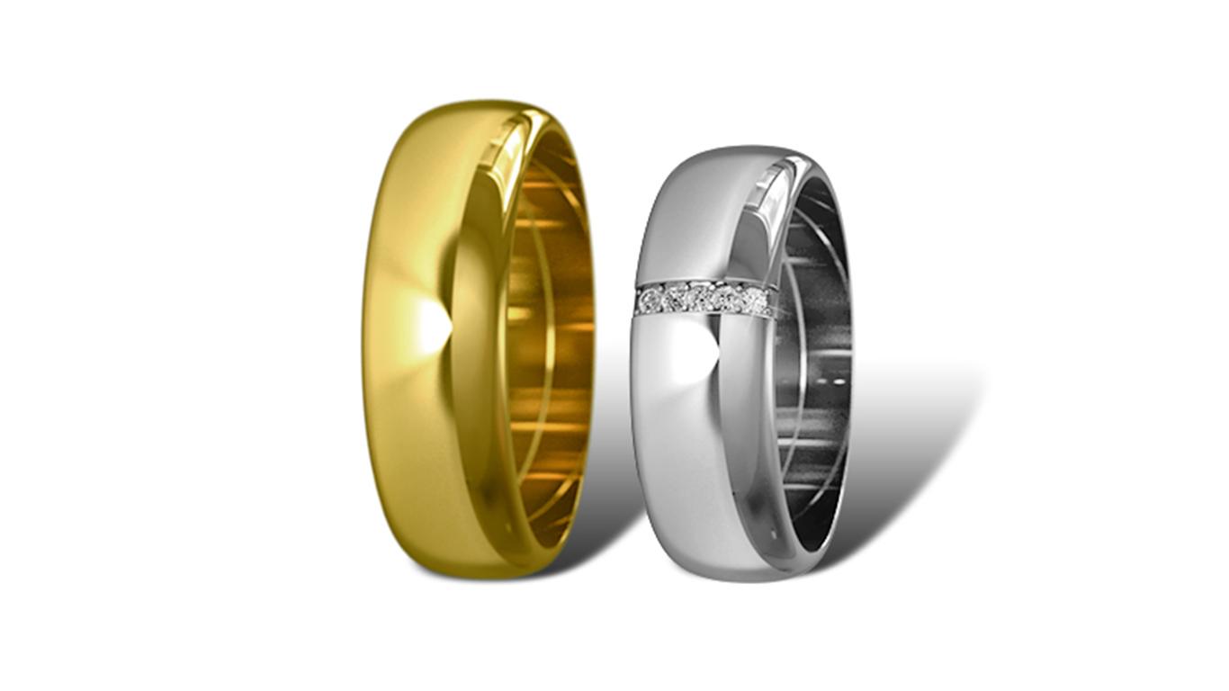 Обручальные кольца Didiamond (арт.14)