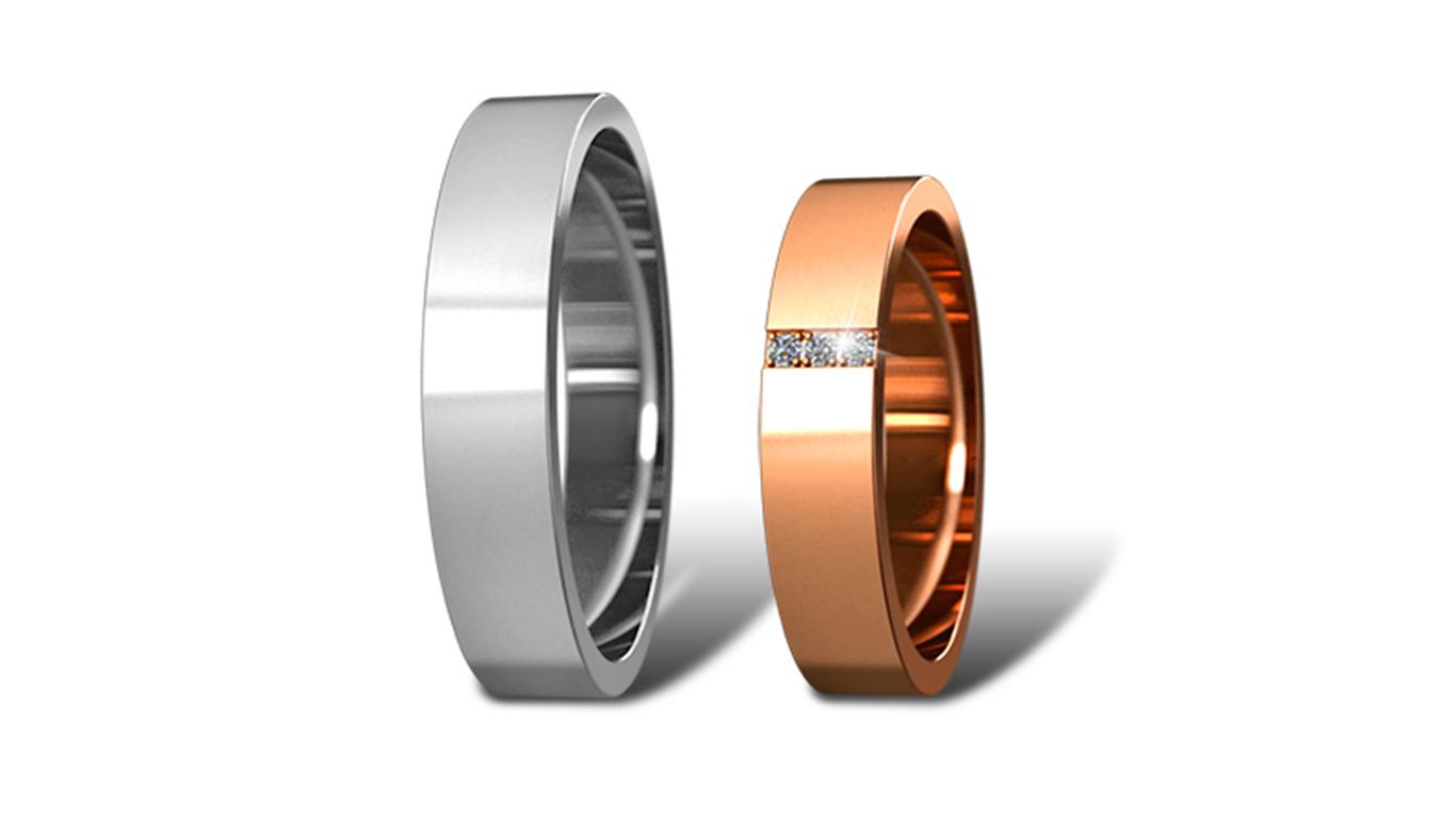Обручальные кольца Didiamond арт.20