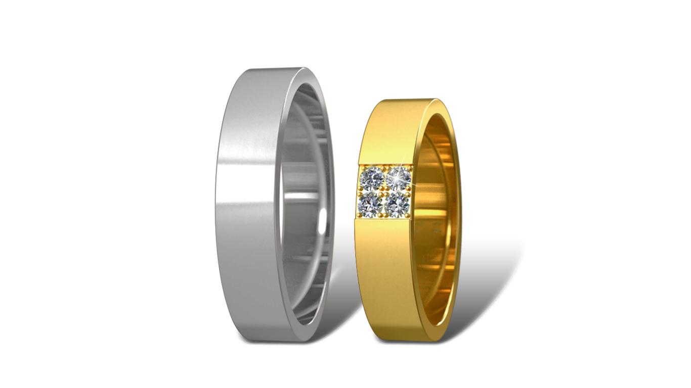 Обручальные кольца Didiamond (арт.11)