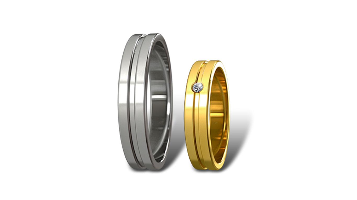 Обручальные кольца Didiamond арт.4