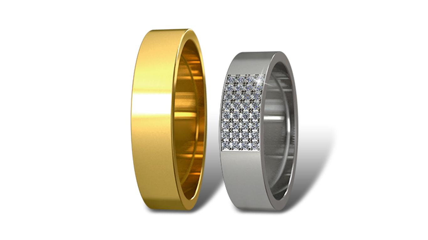 Обручальные кольца Didiamond (арт.13)