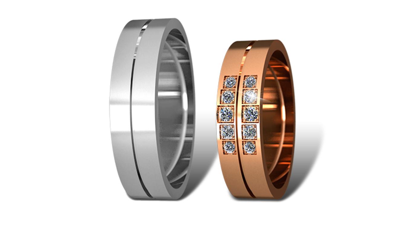 Обручальные кольца Didiamond (арт.9)