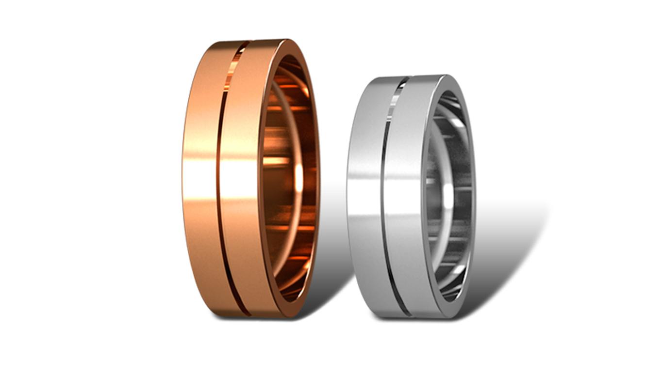 Обручальные кольца Didiamond (арт.19)