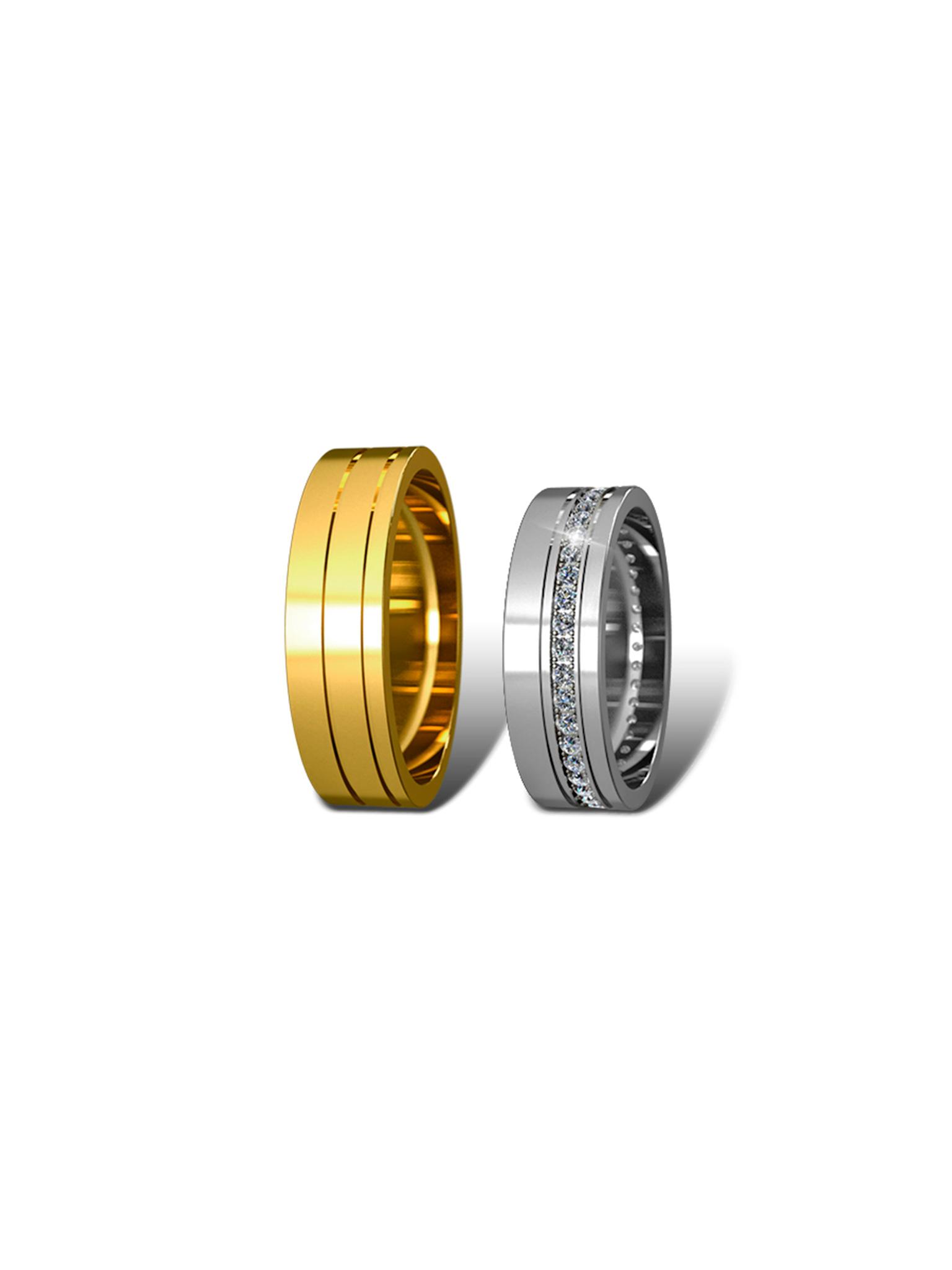 Обручальные кольца Didiamond (арт.8)
