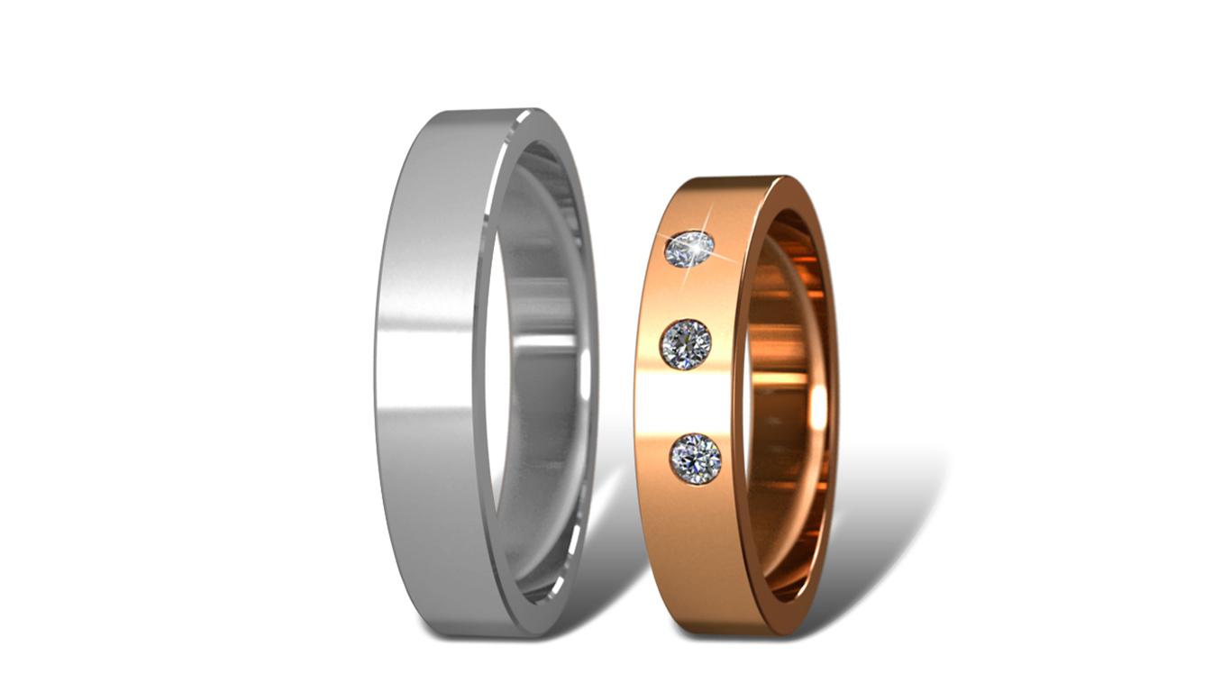 Обручальные кольца Didiamond арт.17