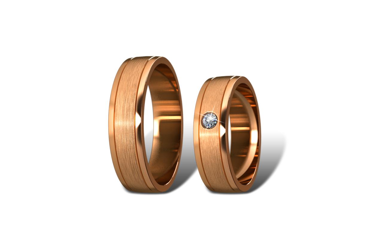 Обручальные кольца Didiamond (арт.12)