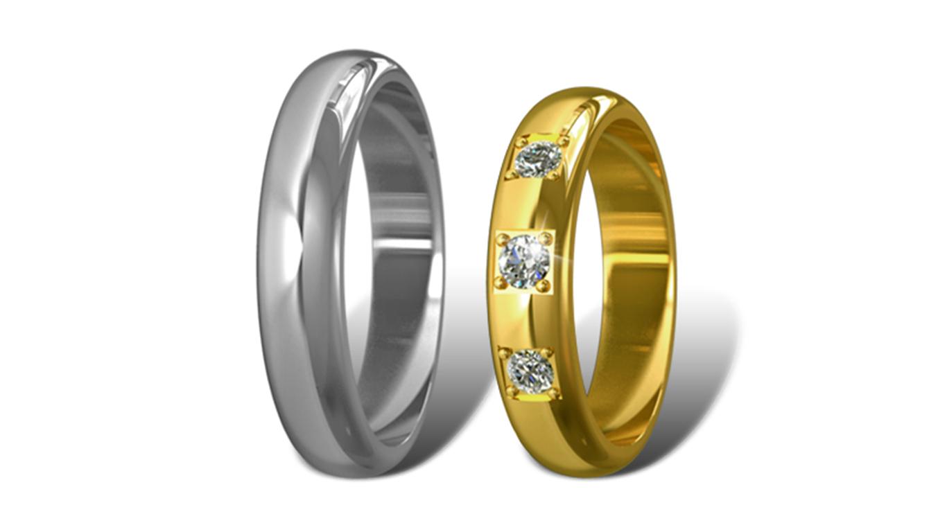Обручальные кольца Didiamond арт.16