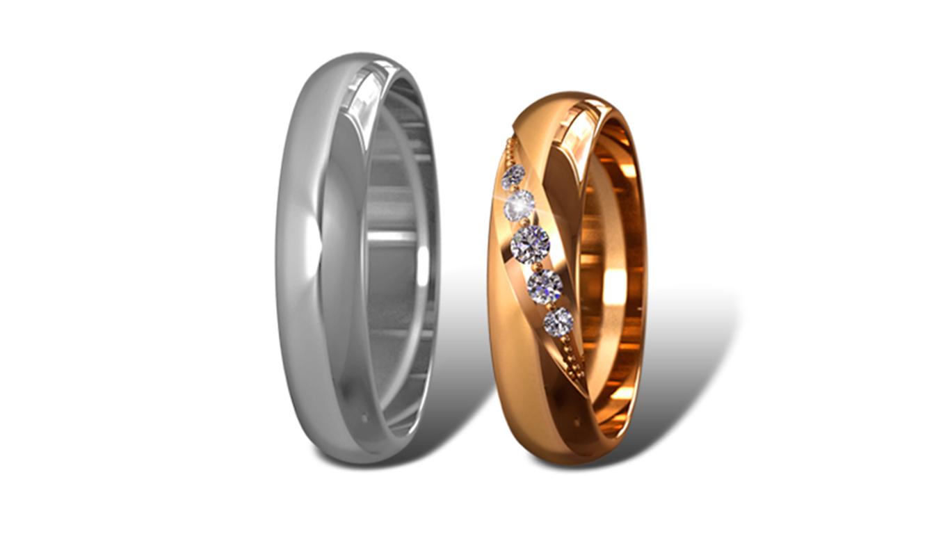 Обручальные кольца Didiamond (арт.15)