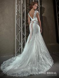 Купить свадебное платье в Москве, силуэт русалка Love Bridal
