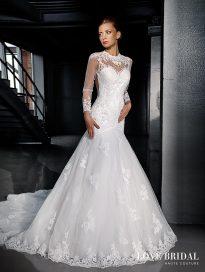 Купить свадебное платье русалка в Москве Love Bridal арт.13579
