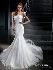 Купить свадебное платье русалка в Москве Love Bridal арт. 14209