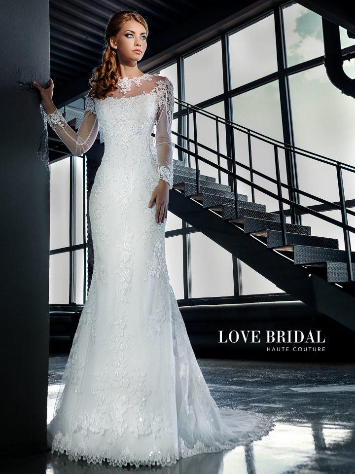 Купить свадебное платье русалка от Love Bridal арт.14210