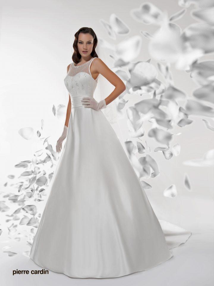 Свадебное платье Pierre Cardin атласное арт.7404