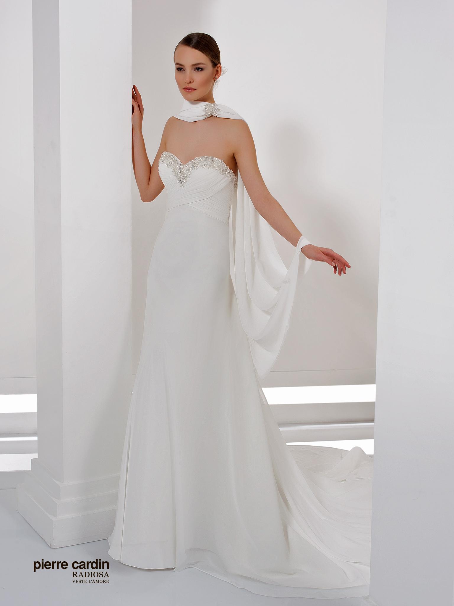 Свадебное платье прямое Pierre Cardin (арт.8426)