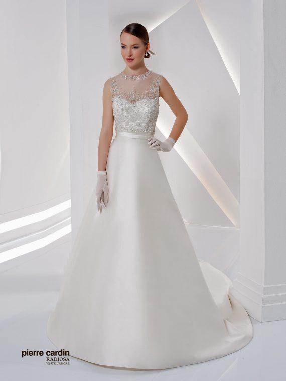 Расшитое свадебное платье Pierre Cardin 8429