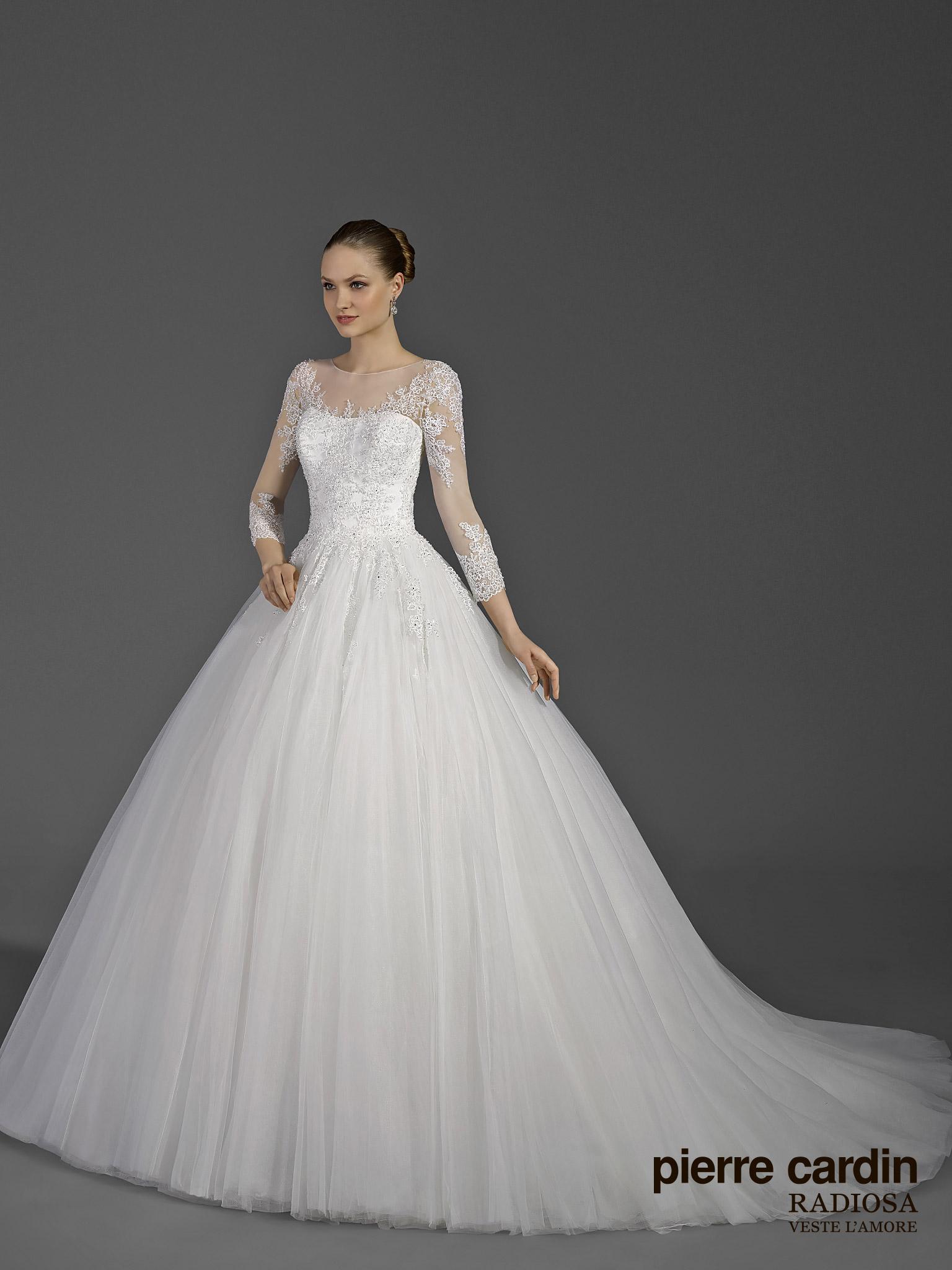 Свадебное платье пышное Pierre cardin (арт.8654)
