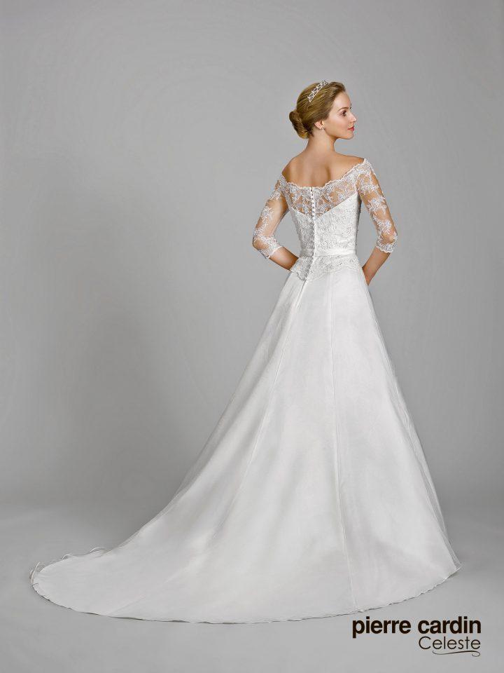 Свадебное платье с рукавами Pierre Cardin (арт.9645)