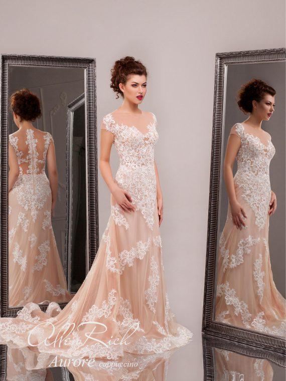 Закрытое кружевное платье арт.Aurore