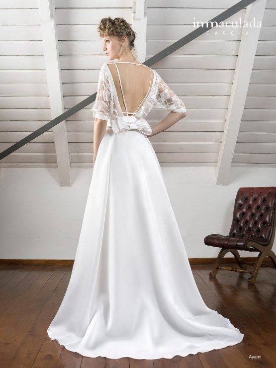 Испанское свадебное платье Immaculada Garcia