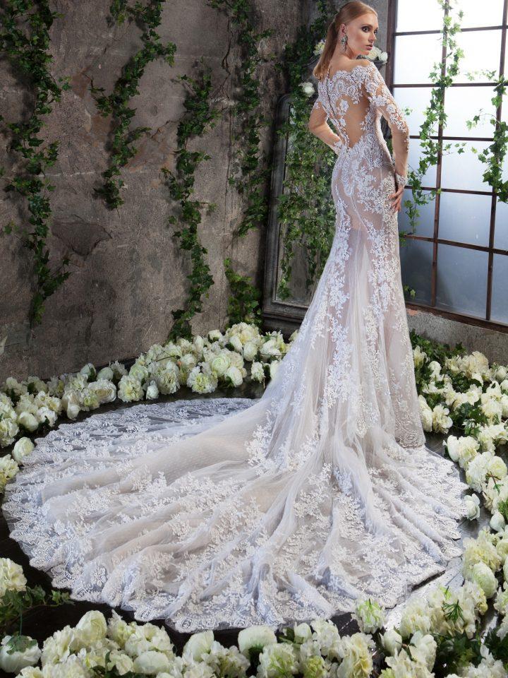 Куржевное свадебное платье Карла от Svetlana Lyalina