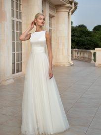 Безкорсетное свадебное платье