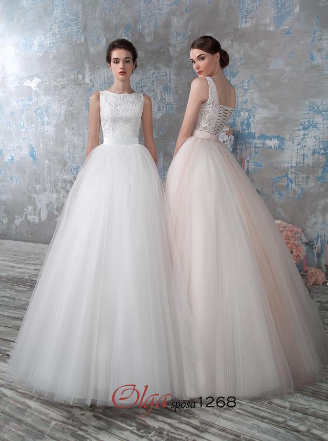 свадебное платье фатиновое