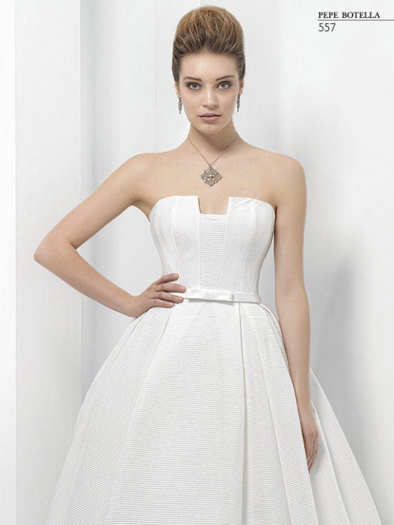Испанское свадебное платье Pepe Botella арт. 557