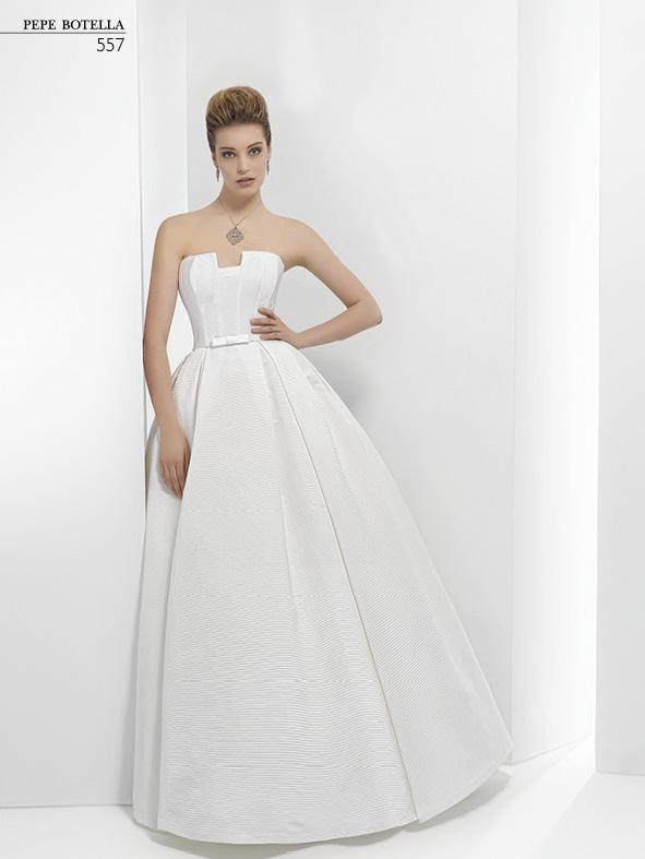 Испанское свадебное платье Pepe Botella арт.557