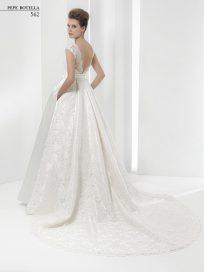Испанское свадебное платье Pepe Botella арт.562
