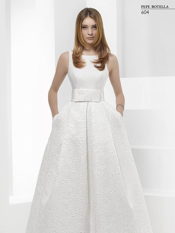 Испанское свадебное платье