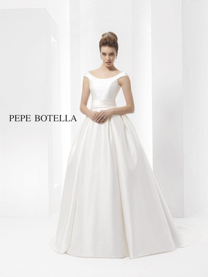 Свадебное платье пышное, со шлейфом PEPE BOTELLA арт.554