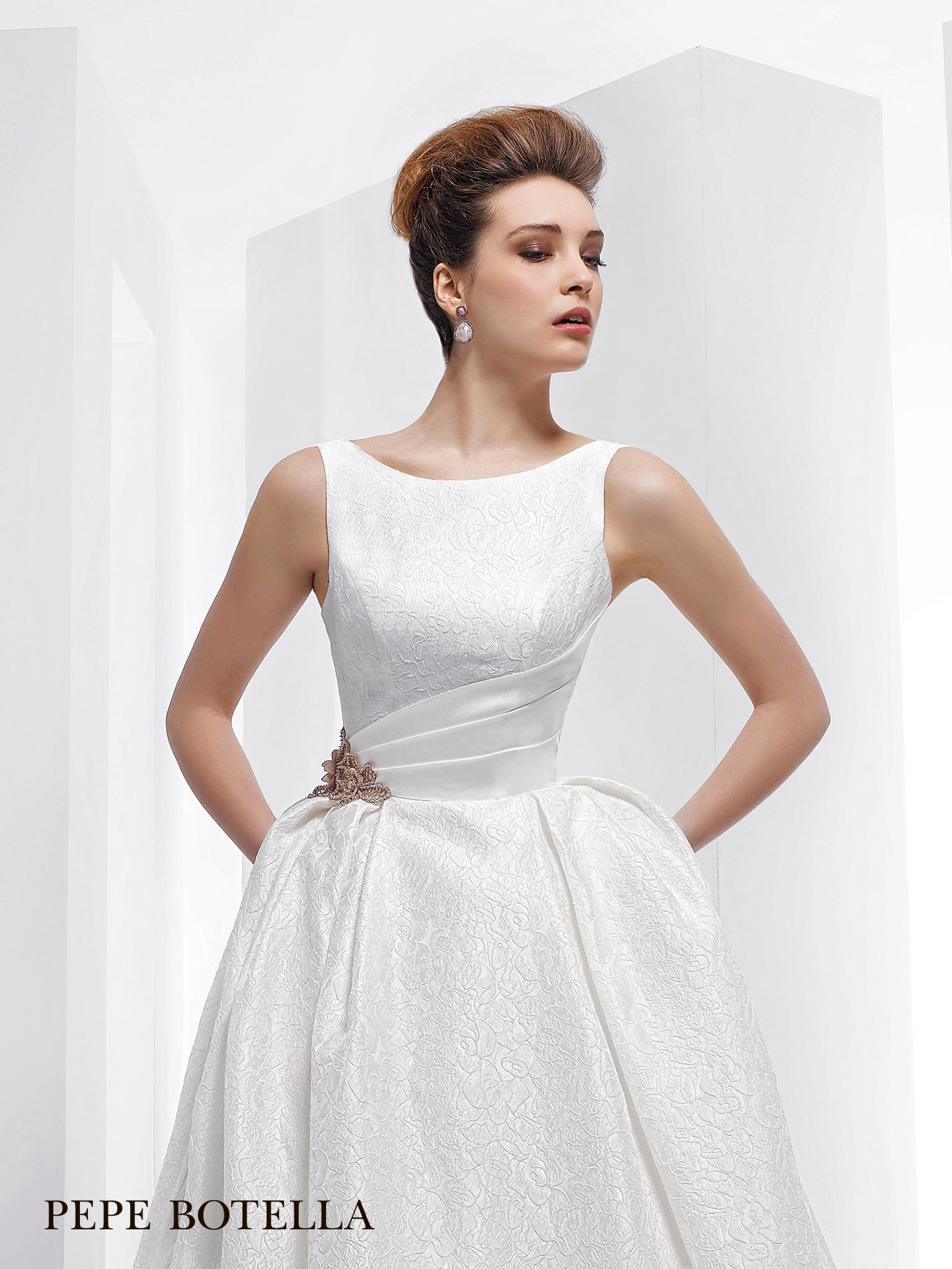 Испанское свадебное платье Pepe Botella
