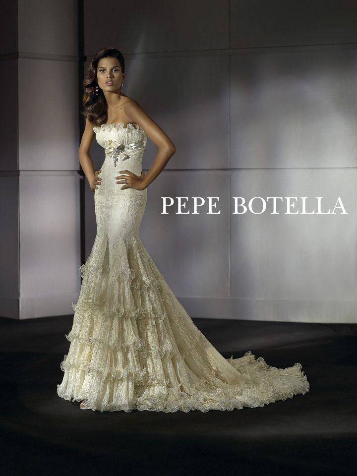 Свадебное платье русалка Pepe Botella арт.3055