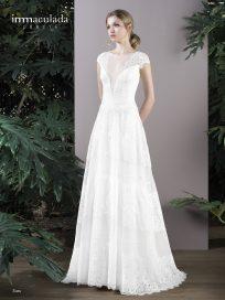 Испанское свадебное платье Inmaculada Garcia арт SUZU
