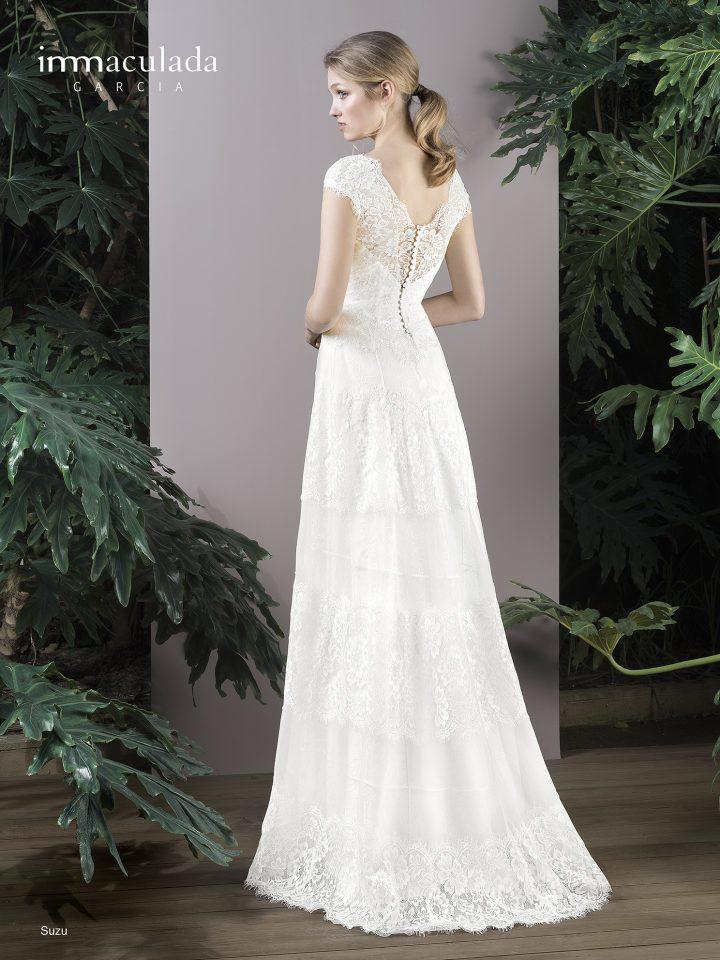 Испанское свадебное платье Inmaculada Garcia mod.SUZU