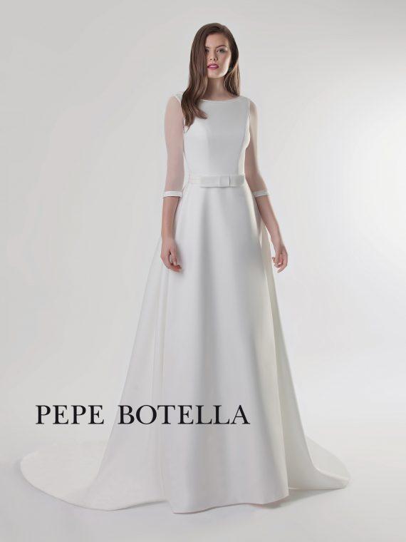 Элегантное свадебное платье Pepe Botella арт. 496