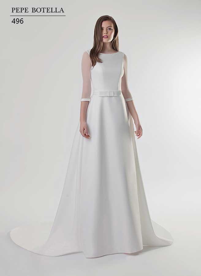 Элегантное свадебное платье Pepe Botella арт.496