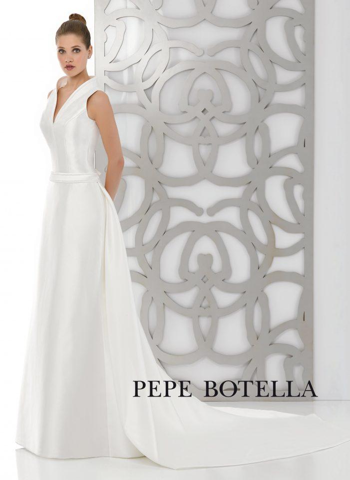 Испанское свадебное платье Pepe Botella арт. 504