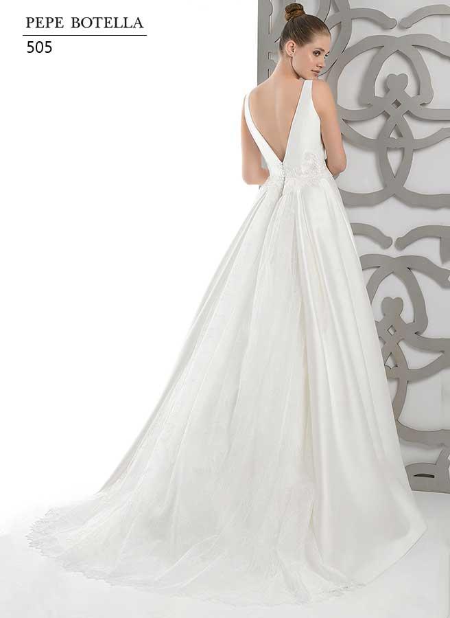 Испанское свадебное платьеPepe Botella арт.505