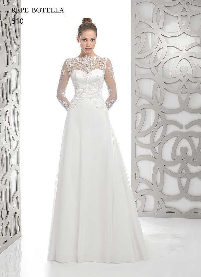 Испанское свадебное платье Pepe Botella арт.510