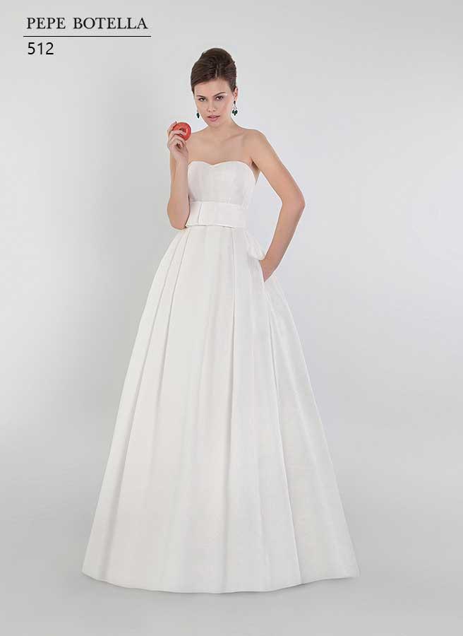 Испанское свадебное платье Pepe Botella арт. 512
