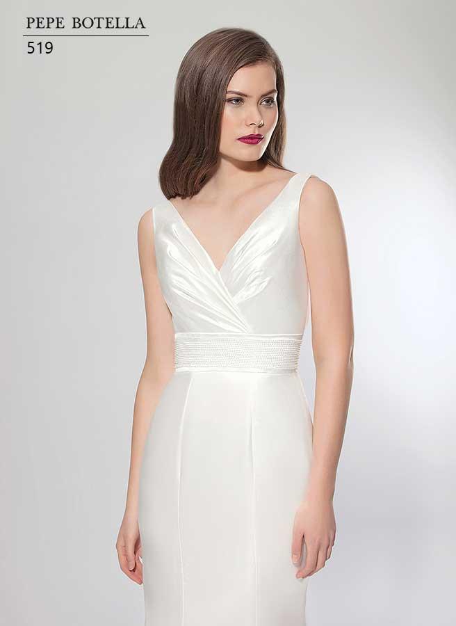 Испанское свадебное платье русалка Pepe Botella арт.519