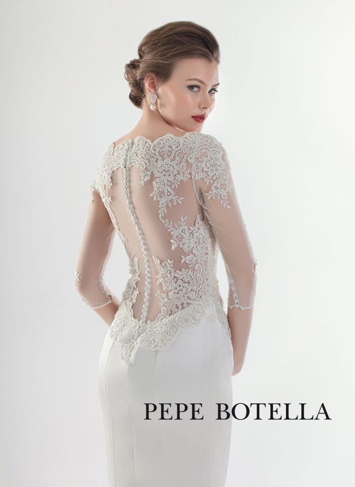 Испанское свадебное платье Pepe Botella арт.537