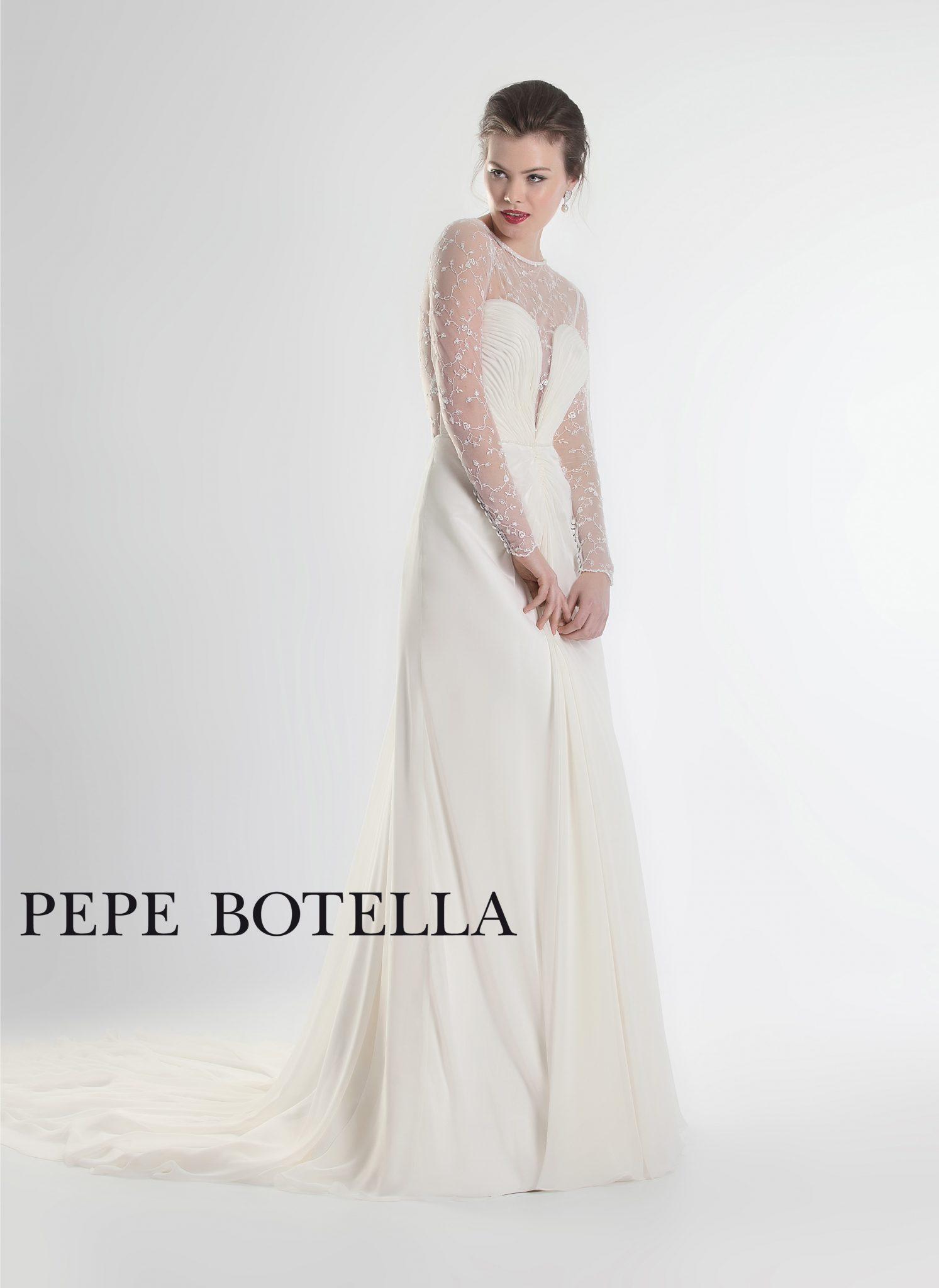 Испанское свадебное платье Pepe Botella арт.538