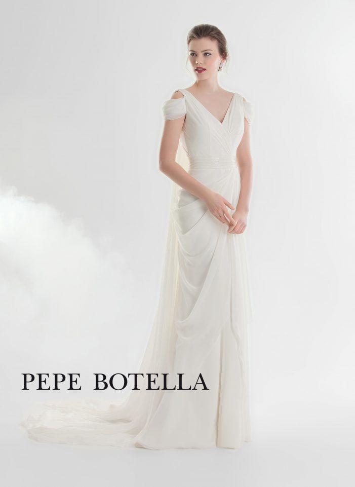Испанское свадебное платье Pepe Botellaарт. 539
