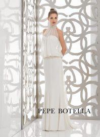 Испанское свадебное платье русалка Pepe Botella арт.540