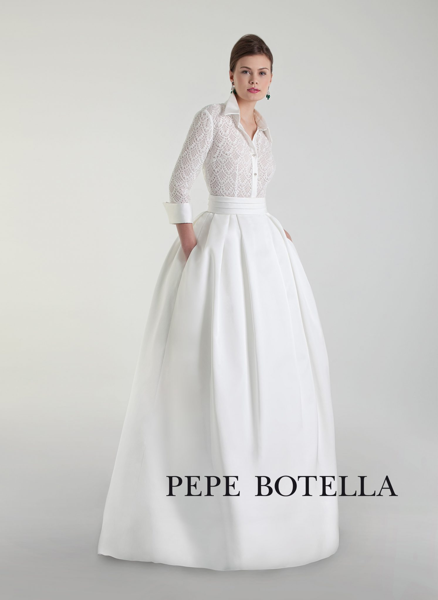 Свадебный комплект юбка с блузкой Pepe Botella арт. 550