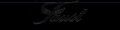 Франузские вечерние платья от бренда Faust