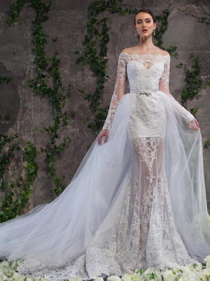 Кружевное свадебное платье трансформер Svetlana Lyalina